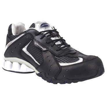 Lavoro Run Silver S1P Black/Grey Safety Trainers