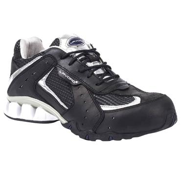 Lavoro Run Silver S1P Black/White Safety Runners and Trainers