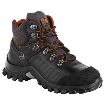 No Risk Subway S3 Black Safety Boots