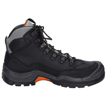 No Risk McKenzie S3 Black Safety Boots