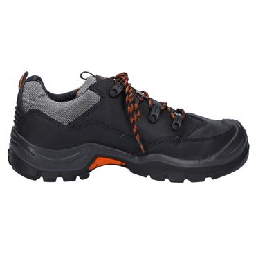 No Risk Lewis S3 Black Safety Shoes