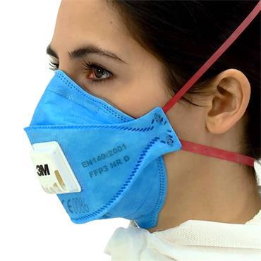 3M 9400+ Series Aura Disposable Respirator FFP2 / FFP3
