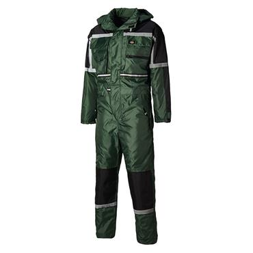 Dickies WP15000 Waterproof Padded Coverall - Green