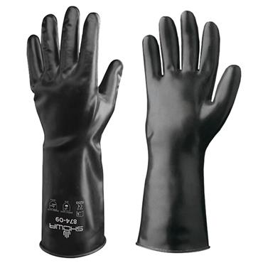 Best 874 Butyl II Smooth Finish Chemical Resistant Gloves