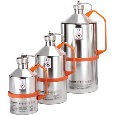 ROTZMEIER Stainless Steel Electro-Polished Safety Cans