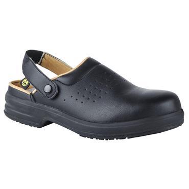 CITEC E113 ESD Black Safety Clogs