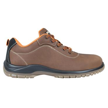Exena Gea S3 SRC Metal-Free Brown Safety Shoes
