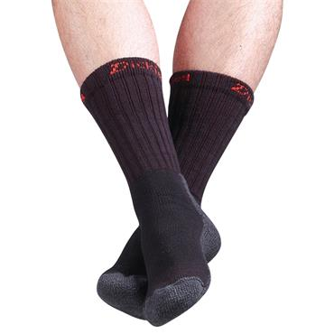 Dickies DCK-00010 Black Industrial Work Socks