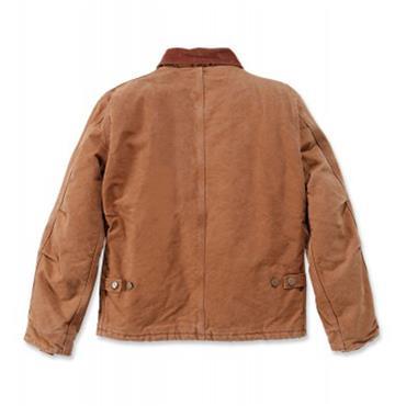 Carhartt EJ022 Duck Traditional Jacket - Brown