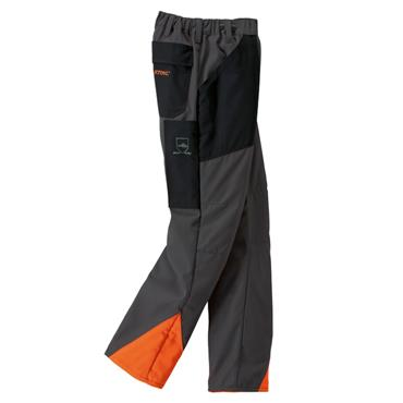 Stihl Economy Plus Chainsaw Protective Trousers - Anthracite/Orange