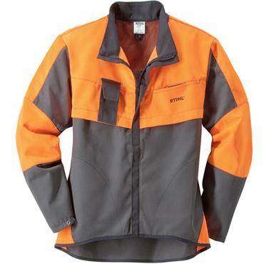 Stihl Economy Plus Jacket - Anthracite/Orange