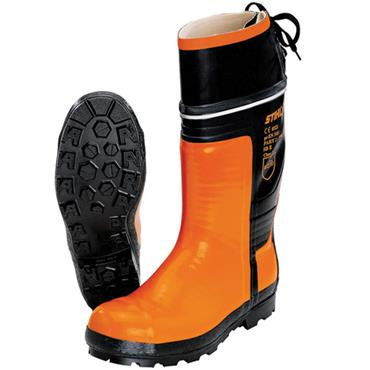 Stihl Special Rubber Chain Saw Orange Safety Boots