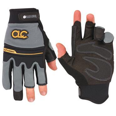 Custom Leathercraft 140 Pro Framer XC Fingerless Gloves