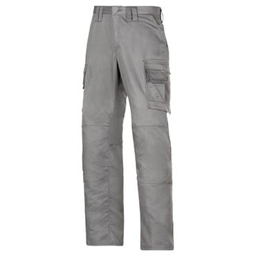 Snickers 3813 Service Line Cargo Trousers - Grey