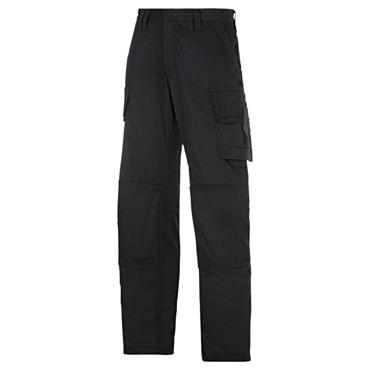 Snickers 3823 Service Line Cargo Trousers - Black