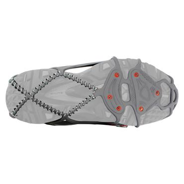 Yaktrax Grey/Red Run Traction Cleat