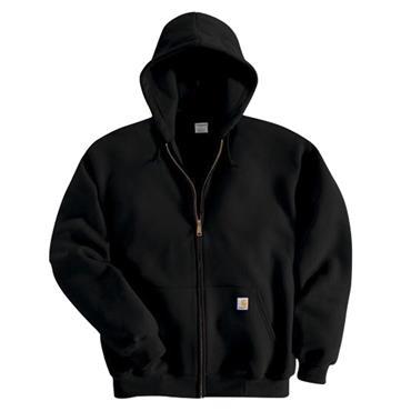 Carhartt K122 Midweight Hooded Sweatshirt - Black