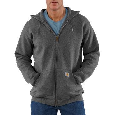 Carhartt K122 Midweight Hooded Sweatshirt - Charcoal Heather