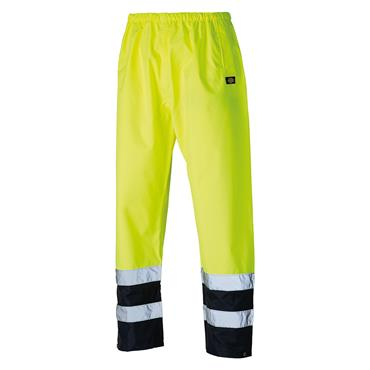 Dickies SA1003 High-Visibility Two Tone Trousers - Yellow/Navy