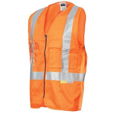 CITEC HVW801 High-Visibility Executive Vest/Waistcoat - Orange