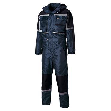 Dickies WP15000 Waterproof Padded Coverall - Navy Blue