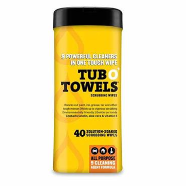 CITEC TW40 Tub O' Towels Cleaning Wipes Pack of 40