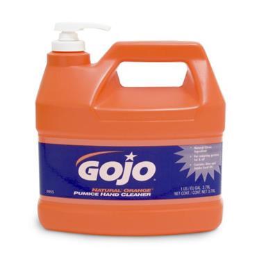GOJO 0955-02 Natural Orange Pumice Hand Cleaner 3.78 Litres