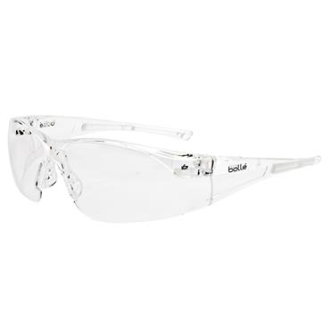 Bolle RUSHPSI Rush Safety Glasses - Clear