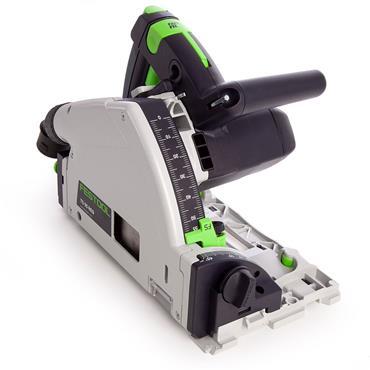 Festool 575962 TS 55 REQ Plus 1200W Circular Saw 110V with 2 Guide Rails