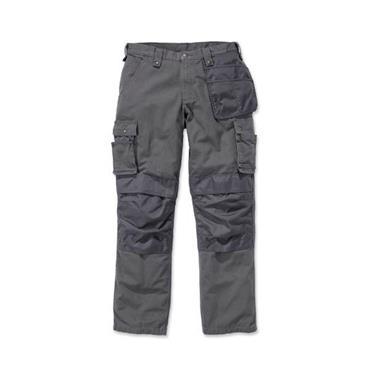 Carhartt 100233039 Men's Rip-Stop Multi-Pocket Trousers - Gravel