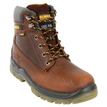 DeWALT Titanium S3 Waterproof Tan Safety Boots