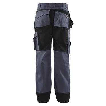 Blaklader 1503 Craftsman Trousers - Grey/Black