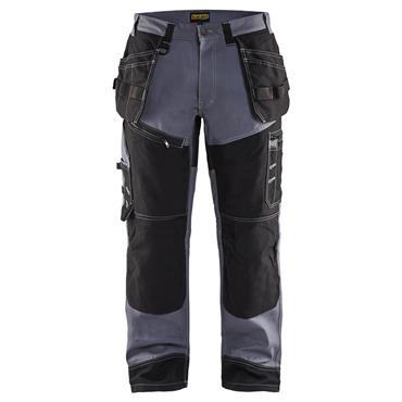 Blaklader 1500 X1500 Craftsman Trousers - Grey/Black