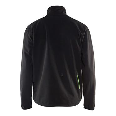 Blaklader 4952 Light Softshell Jacket - Black/Green
