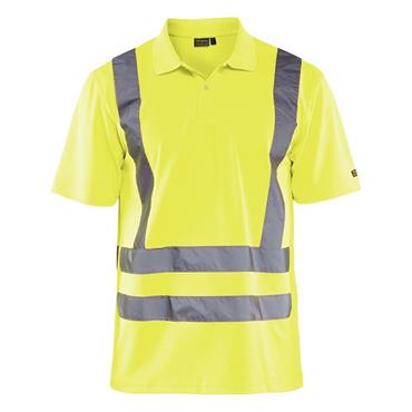 Blaklader 3310 Class 3 High-Visibility Polo Shirt - Yellow
