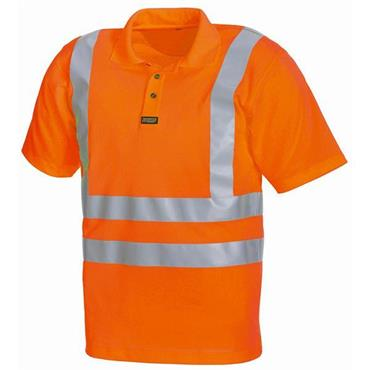 Blaklader 3310 Class 3 High-Visibility Polo Shirt - Orange