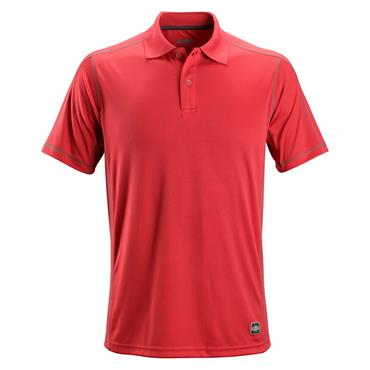 Snickers 2711 A.V.S. Polo Shirt - Chili Red