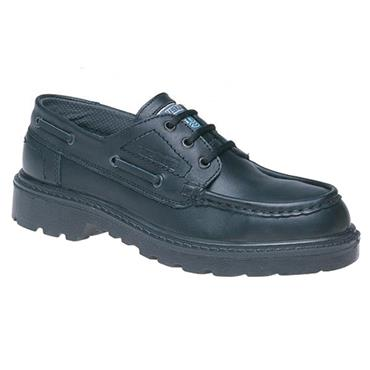 TUF Sole Step Leather S1 Black Safety Shoes