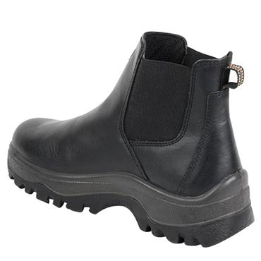 No Risk New Boston S3 Dealer Black Safety Boots