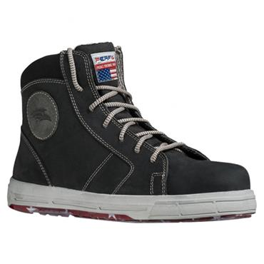 Perf Boston High S3 SRC Black Safety Shoes