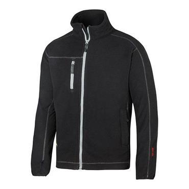 Snickers 8012 A.I.S Full Zip Fleece Jacket - Black