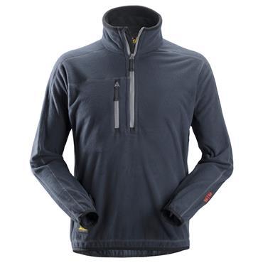 Snickers 8013 A.I.S 1/2 Zip Pullover Fleece Jacket - Navy
