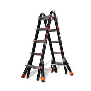 Little Giant 1303-127 5 Steps Dark Horse Fibreglass Multi-Use Ladder