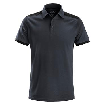 Snickers 2715 AllroundWork Polo Shirt - Steel Grey/Black