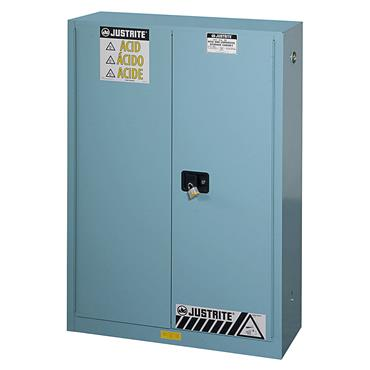 Justrite 8945221 Sure-Grip EX Steel Safety Cabinet for Acid and Corrosives