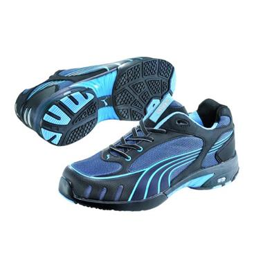 Puma Fuse Motion Wns Low S1 Black/Blue Ladies Safety Shoes
