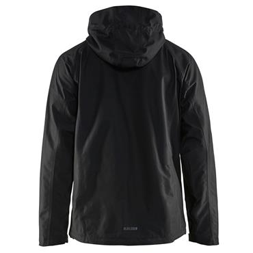 Blaklader 4866 Waterproof Rain Jacket - Black
