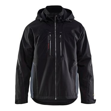 Blaklader 4890 Lightweight Lined Functional Jacket - Black/Grey