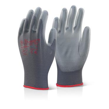 CITEC PUGGY Grey PU Coated Gloves