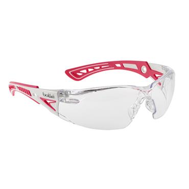 Bolle RUSHPSPSIP Rush Plus Small Safety Glasses - Clear